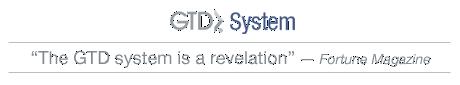 Gtd system