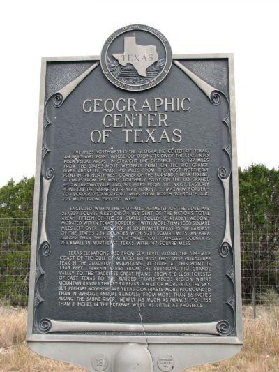 Center of Texas