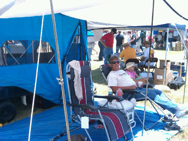 Airshow tent