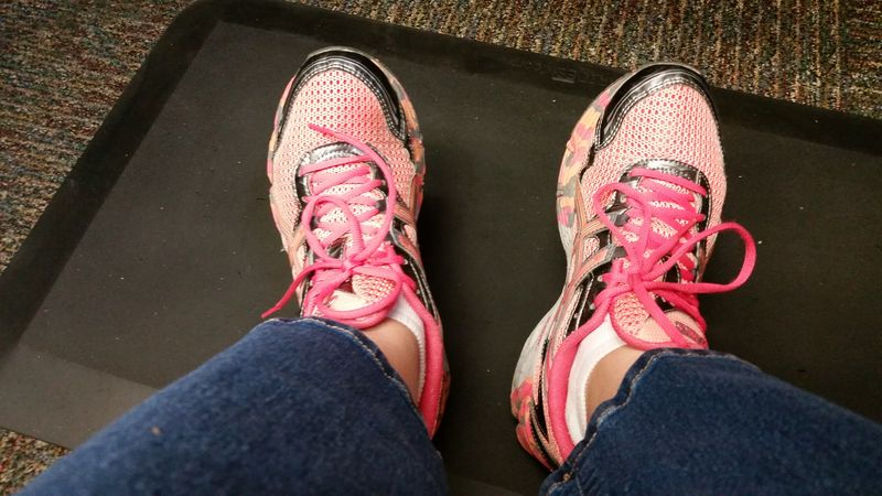 Canteloupe shoes