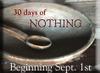 30daysofnothing9